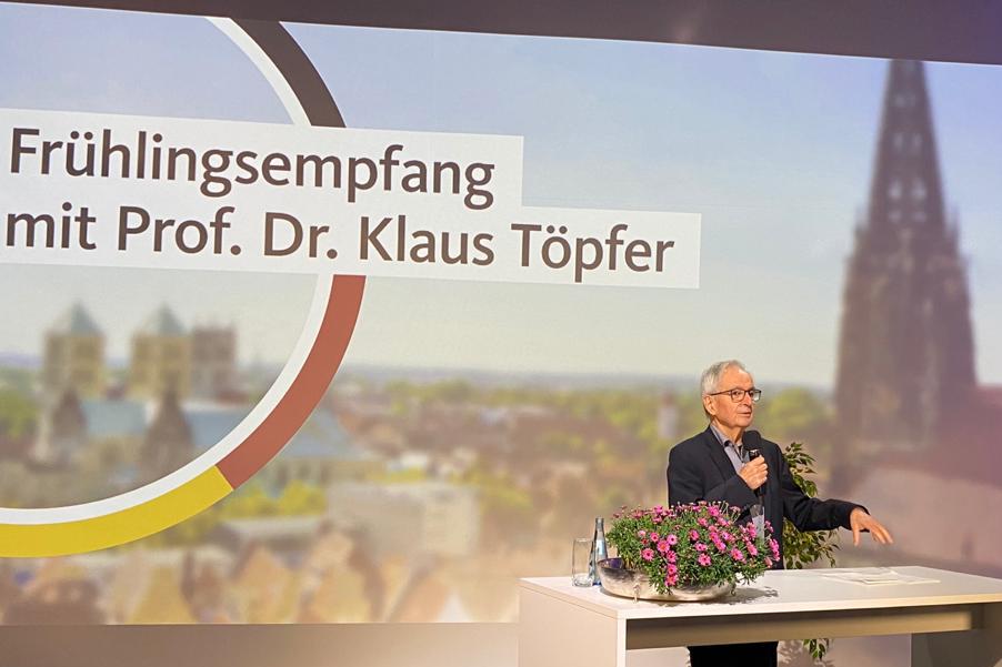 """Professor Dr. Klaus Töpfer: """"Verantwortung ist nicht verbot, sondern ethisch begründete Grenzsetzung"""""""
